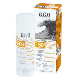 Eco Cosmetics Surf & fun extra waterproof sun cream SPF50 +
