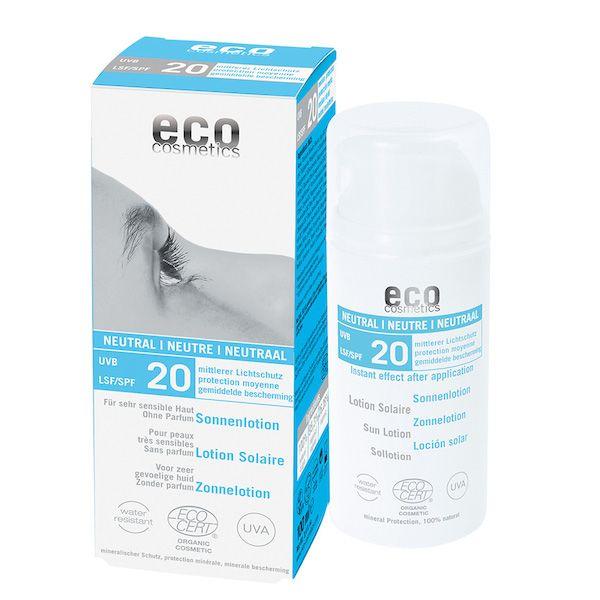 Eco Cosmetics Eco Cosmetics Sonnenlotion ohne parfum SPF20