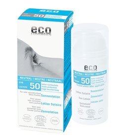 Eco Cosmetics Sun Lotion SPF50 fragrance free