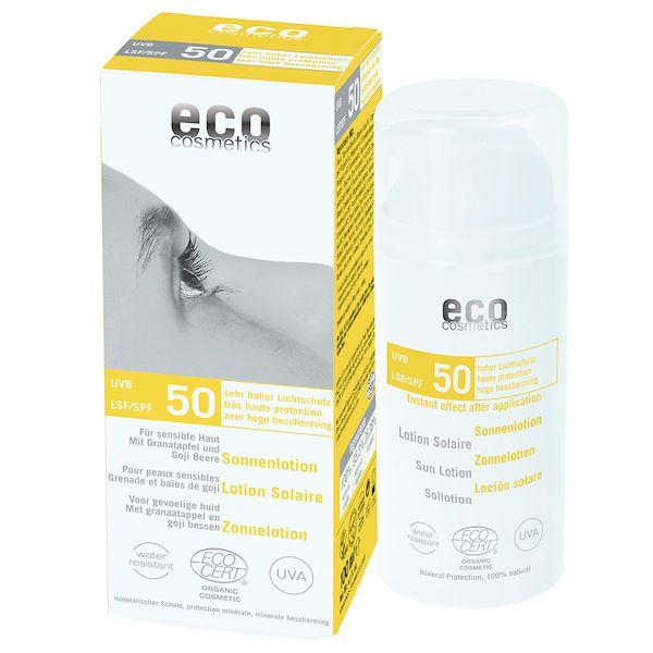 Eco Cosmetics Eco Cosmetics Sonnenlotion LSF 50