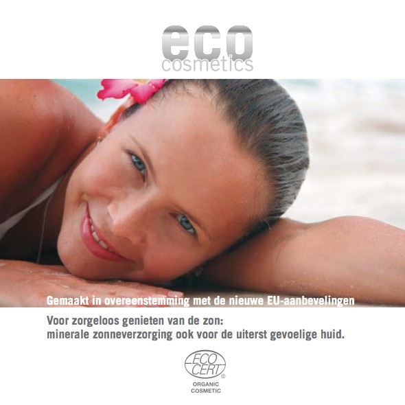 Eco Cosmetics Eco Cosmetics Sonnenlotion LSF 20