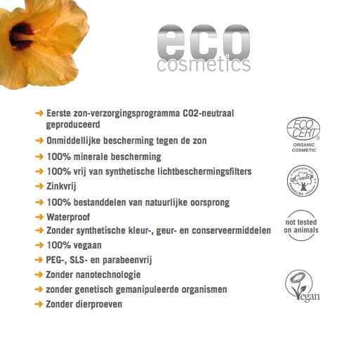 Eco Cosmetics Eco Cosmetics Snow & Fun Sachets SPF50+