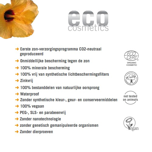 Eco Cosmetics Eco Cosmetics Sunscreen SPF30 Getönt