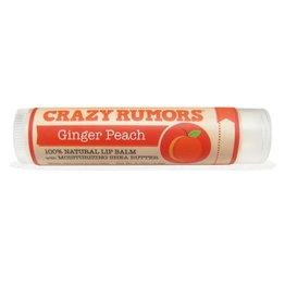 Crazy Rumors Ginger Peach lip balm