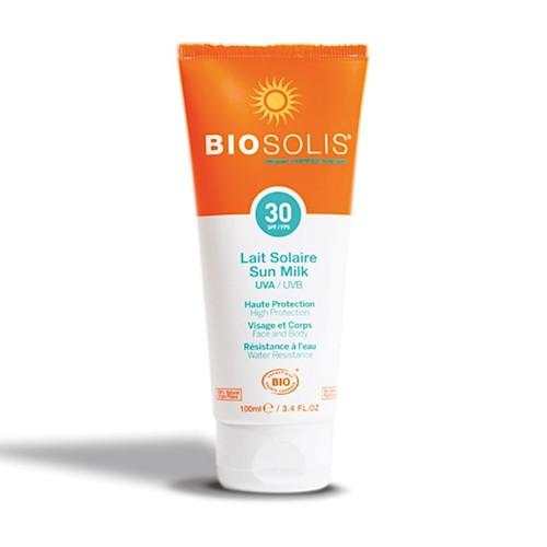 BioSolis Biosolis Sonnenmilch LSF30 Gesicht und Körper