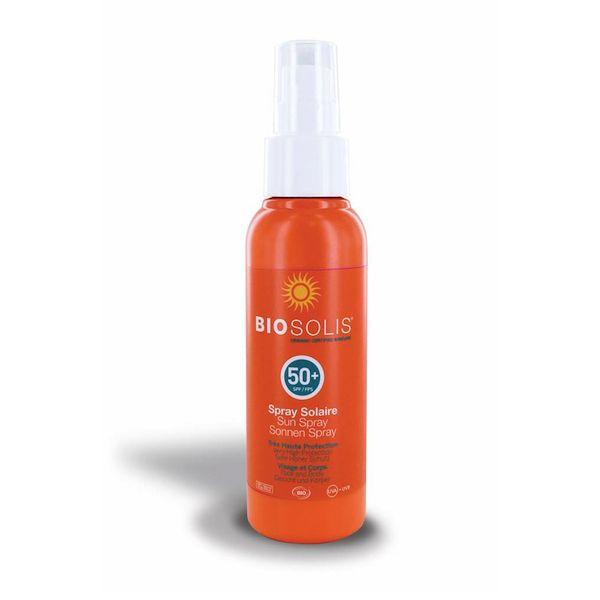 BioSolis Biosolis Sun Spray LSF 50 Gesicht und Körper