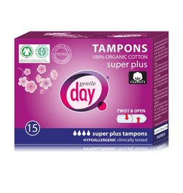 Gentle Day Tampons Super Plus