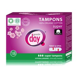 Gentle Day Tampons Super