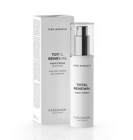 MÁDARA Time Miracle Night Cream Total Renewal
