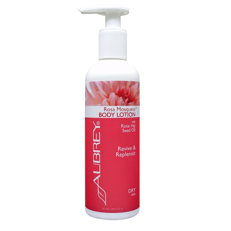 Aubrey Organics Aubrey Rosa Mosqueta Luxurious Moisturizing Body Lotion