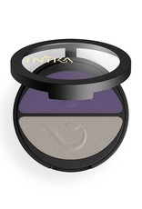 INIKA Makeup Inika Pressed Mineral Lidschatten Duo Purple-Platinum