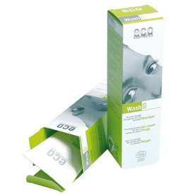 Eco Cosmetics Gel nettoyant pour le visage avec du thé vert et du vin Journal
