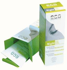 Eco Cosmetics Crème de nuit avec Ginseng et à la grenade
