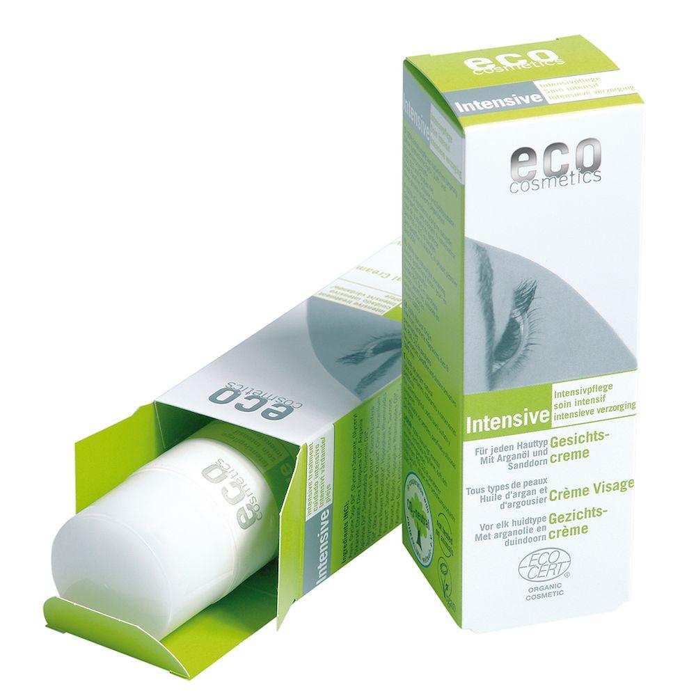 Eco Cosmetics Eco Cosmetics Gesichtscreme Intensiv mit Arganöl und Sanddorn