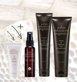 John Masters Organics # 1 Honey & Hibiscus Holiday Collection