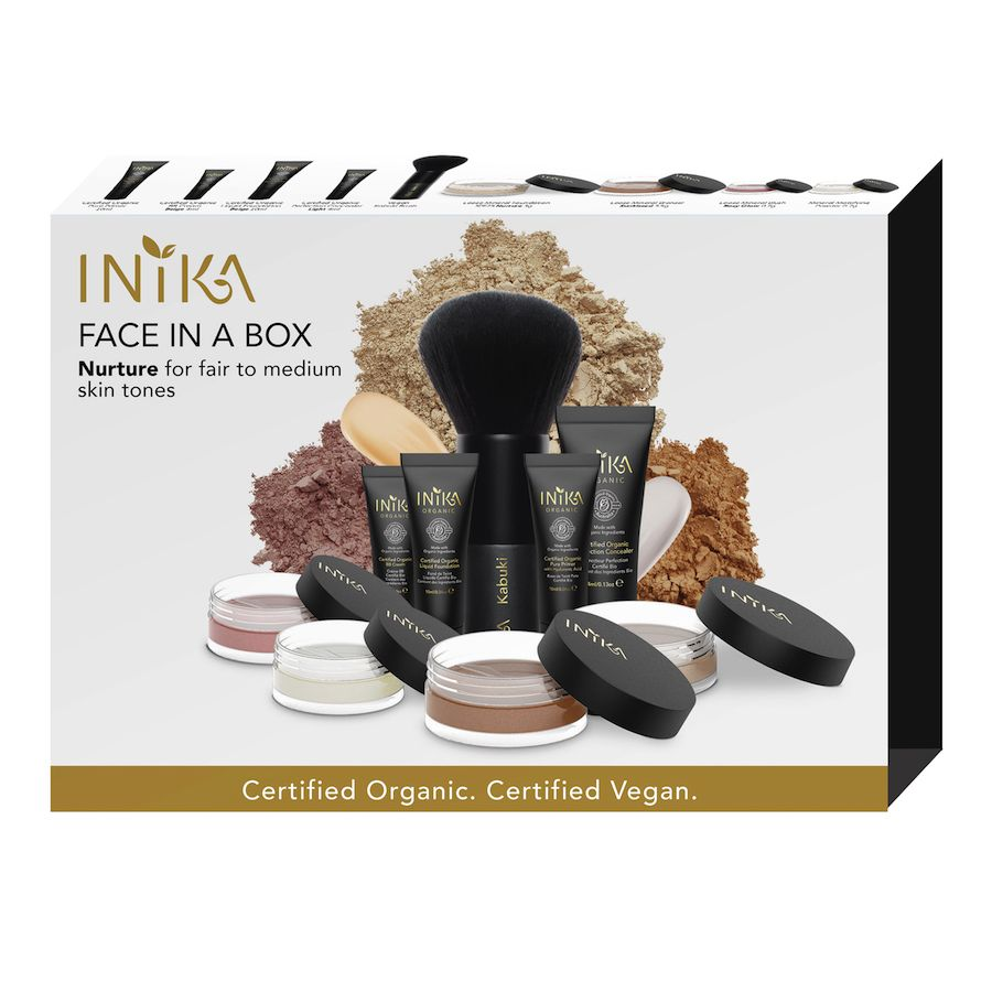 INIKA Makeup Face in a Box 2. Nurture