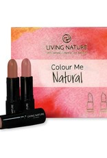 Living Nature Living Nature Lipstick Set Colour Me Natural