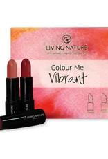 Living Nature Living Nature Lipstick Set Colour me Vibrant