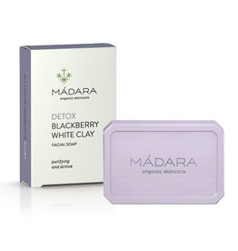 MÁDARA Clarifying Blackberry & White Clay Soap