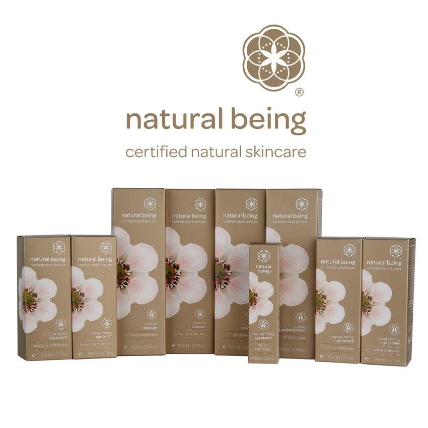 Living Nature Natural Being Manuka Honey Nachtcreme - normale bis trockene