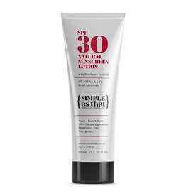 SIMPLE as that Sunscreen Lotion SPF30