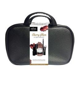 INIKA Makeup Lip and Cheek Set - Cherry Glam