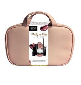 INIKA Organic Lip and Cheek Set - Pretty in Pink