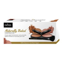 INIKA Makeup Naturally Baked Contour Set