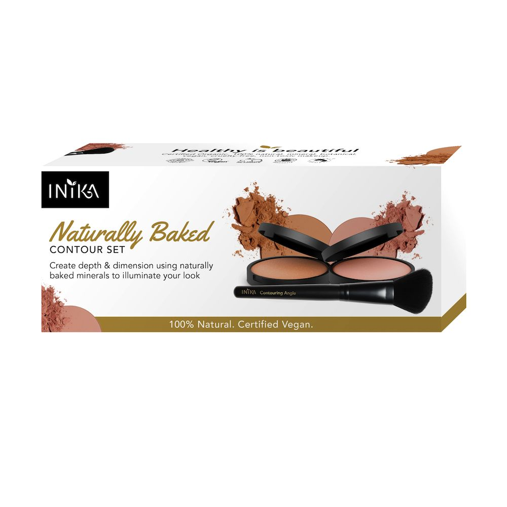INIKA Makeup 1 Naturally Baked Contour Set