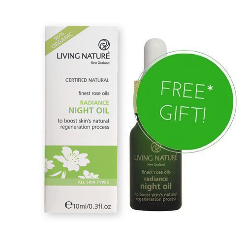 Living Nature Radiance Night Oil FREE GIFT