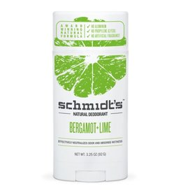 Schmidt's Deodorant Deodorant Stick Bergamot & Lime