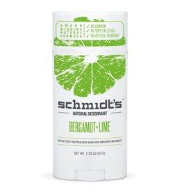Schmidt's Deodorant Stick Bergamot & Lime