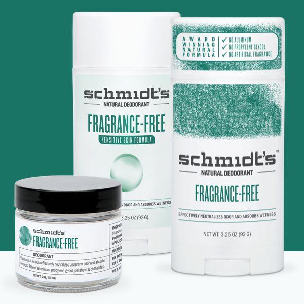 Schmidt's Deodorant Schmidt's Deodorant Stick Fragrance Free