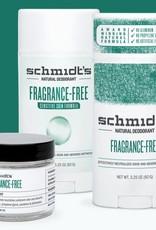 Schmidt's Deodorant Schmidt's Natural Deodorant Fragrance Free