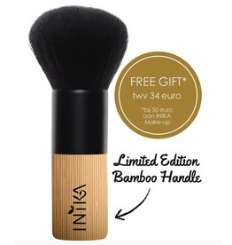 INIKA Makeup #1 Limited Edition Vegan Bamboo Kabuki Brush - FREE GIFT