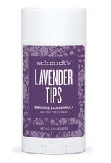 Schmidt's Deodorant Schmidt's Deodorant Stick Sensitive Skin Lavender Tips