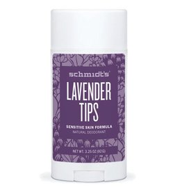 Schmidt's Deodorant Stick Sensitive Skin Lavender Tips