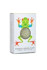 Konjac Sponge Konjac Sponge Mini-Regenwald-Sammlung Pore Refiner, Treefrog, Französisch Grüne Tonerde