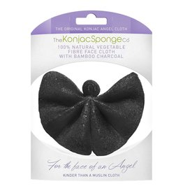 Konjac Sponge Angel Face Cloth Bambuskohle