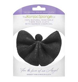 Konjac Sponge Angel Face Tissu charbon de bambou