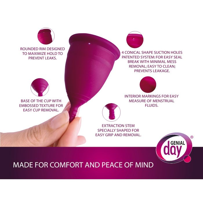 Gentle Day Genial Day Menstruation Cup Size L