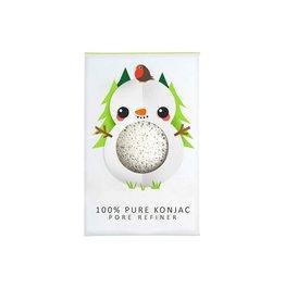 Konjac Sponge Mini Bonhomme de neige pure visage Puff