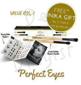 INIKA Makeup Eye Brush Set - CADEAU*