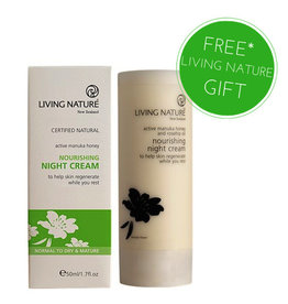 Living Nature Nourishing Night Cream FREE GIFT