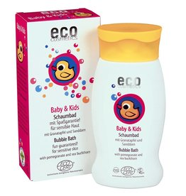 Eco Cosmetics Baby Bubble Bath Pomegranate - Sea Buckthorn