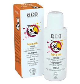 Eco Cosmetics Baby Oil Pomegranate Sea Buckthorn