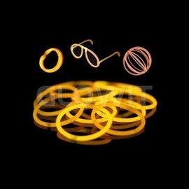 GLOWIT 100 glow armbandjes Oranje