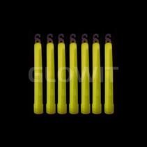 25 Bâtons lumineux 150mm Jaune