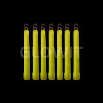 25 Glowsticks 150mm Geel