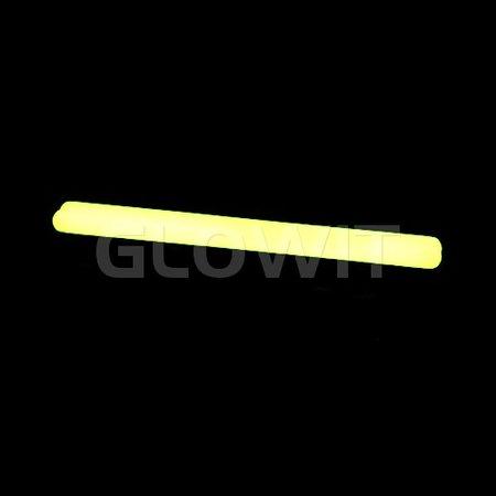 Glowit 25 Bâtons lumineux - 250mm x 15mm - Jaune